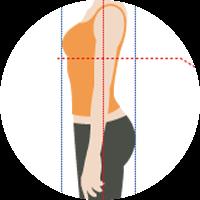 体のバランスがよくなり、子宮や卵巣が正しい位置に戻り、働きやすくなります。